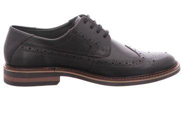 FRETZ MEN Business Schuhe in Übergrößen Schwarz 8952.4844-51 große Herrenschuhe – Bild 4
