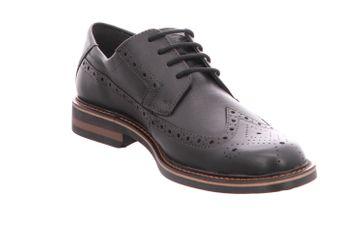 FRETZ MEN Business Schuhe in Übergrößen Schwarz 8952.4844-51 große Herrenschuhe – Bild 6