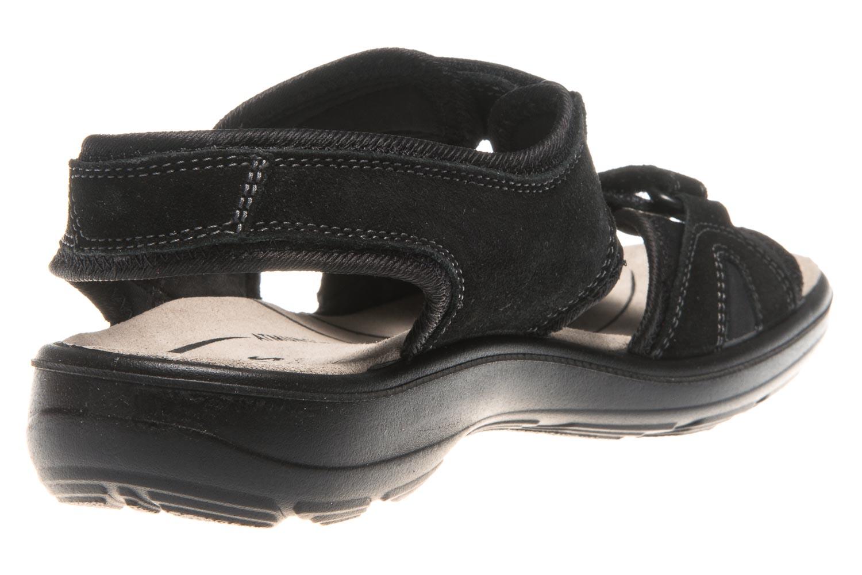 JOMOS Sandale in Übergrößen Schwarz 890604 84 000 große Damenschuhe – Bild 3