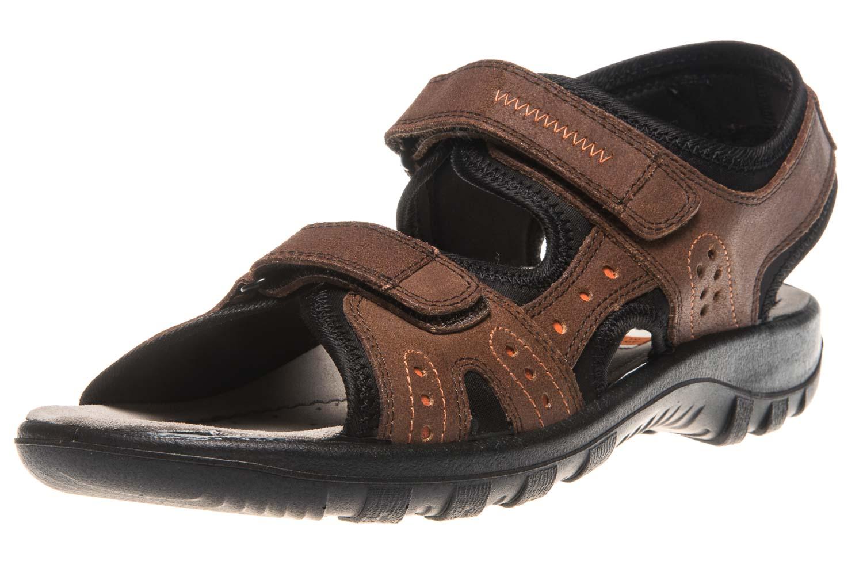 JOMOS Sandale in Übergrößen Braun 504609 86 343 große Herrenschuhe – Bild 1