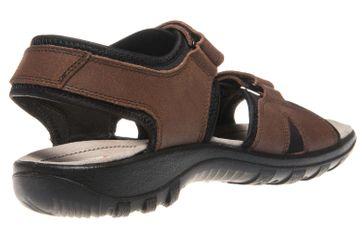 JOMOS Sandale in Übergrößen Braun 50409 86 343 große Herrenschuhe – Bild 3