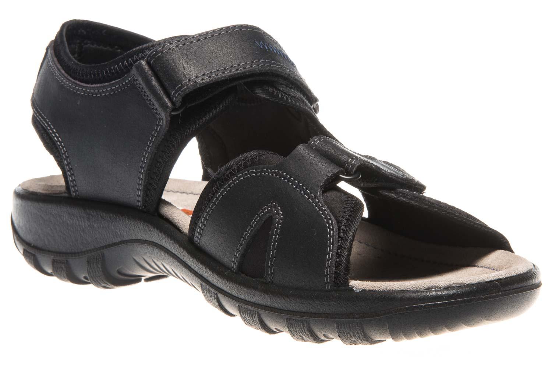 JOMOS Sandale in Übergrößen Schwarz 50409 86 000 große Herrenschuhe – Bild 5