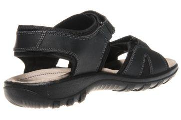 JOMOS Sandale in Übergrößen Schwarz 50409 86 000 große Herrenschuhe – Bild 3