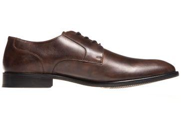 MANZ Business Schuhe in Übergrößen Braun 141022-02 große Herrenschuhe – Bild 4