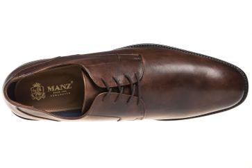 MANZ Business Schuhe in Übergrößen Braun 141022-02 große Herrenschuhe – Bild 7