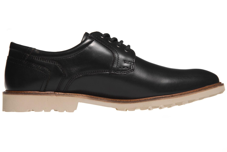 MANZ Business Schuhe in Übergrößen Schwarz 146051-03-001 große Herrenschuhe – Bild 4