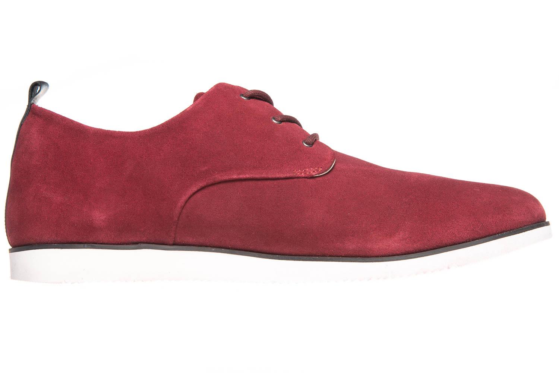 MANZ Business Schuhe in Übergrößen Rot 104015-32-124 große Herrenschuhe – Bild 4