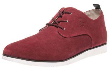 MANZ Business Schuhe in Übergrößen Rot 104015-32-124 große Herrenschuhe – Bild 1