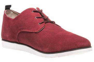 MANZ Business Schuhe in Übergrößen Rot 104015-32-124 große Herrenschuhe – Bild 5