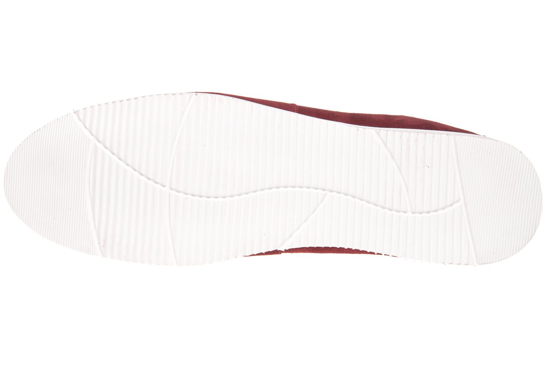 MANZ Slipper in Übergrößen Rot 104016-22-124 große Herrenschuhe – Bild 6