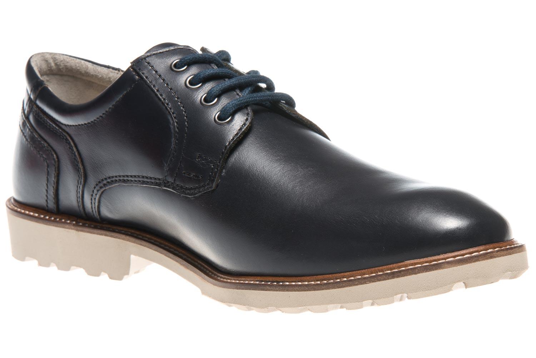 MANZ Business Schuhe in Übergrößen Blau 146050-03-047 große Herrenschuhe – Bild 5