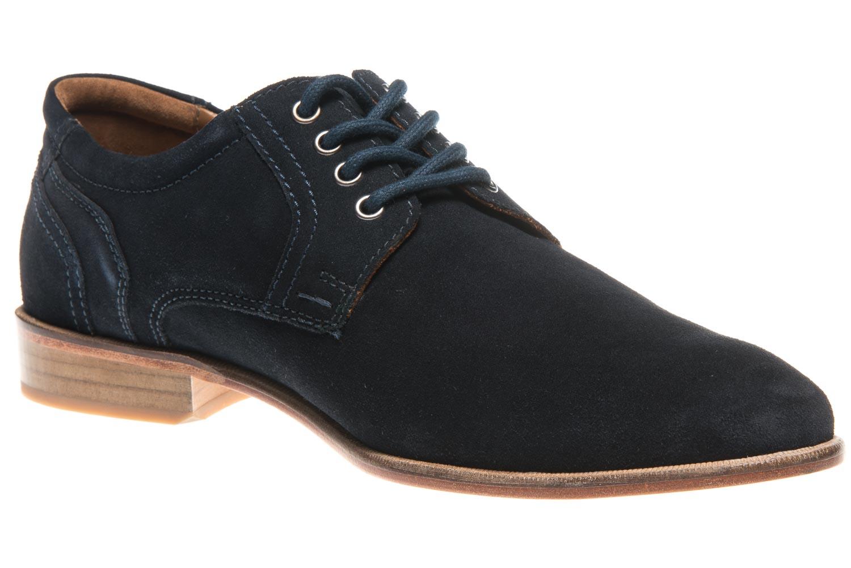 MANZ Business Schuhe in Übergrößen Blau 146068-03-041 große Herrenschuhe – Bild 5