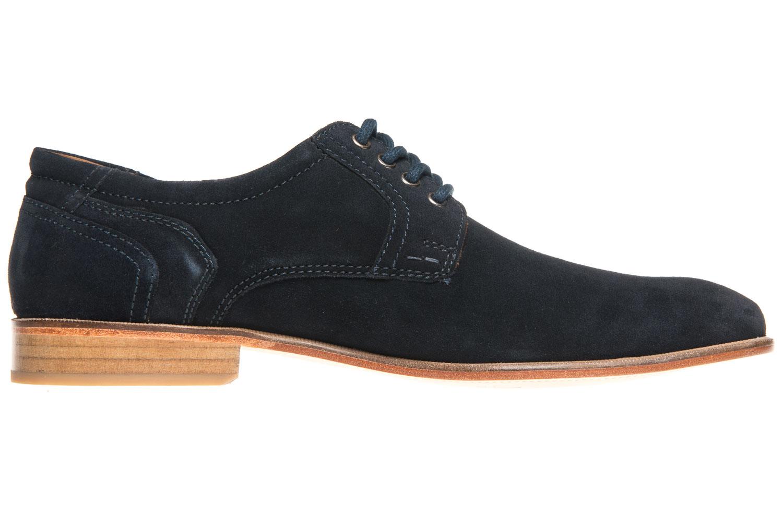 MANZ Business Schuhe in Übergrößen Blau 146068-03-041 große Herrenschuhe – Bild 4