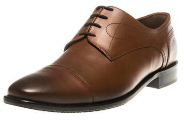 MANZ Business Schuhe in Übergrößen Braun 113064-02-178 große Herrenschuhe – Bild 1
