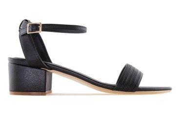 Andres Machado Sandalette in Übergrößen Schwarz AM5257 Soft Negro große Damenschuhe – Bild 3