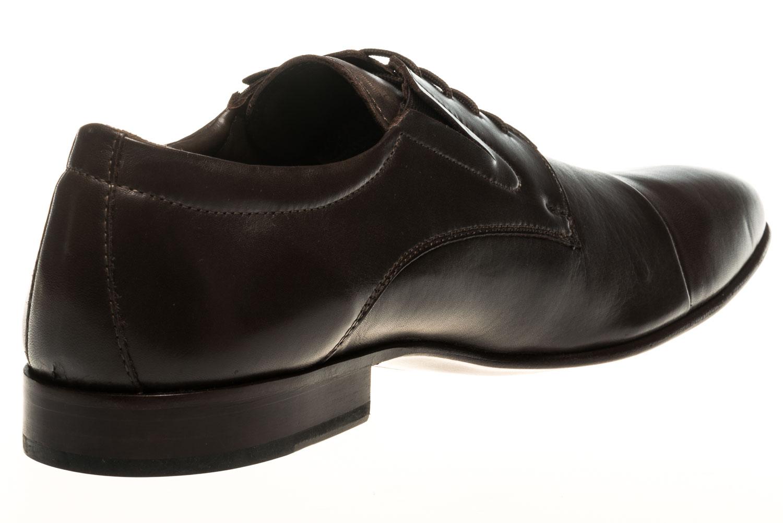 MANZ Business Schuhe in Übergrößen Braun 120051-22-187 große Herrenschuhe – Bild 3