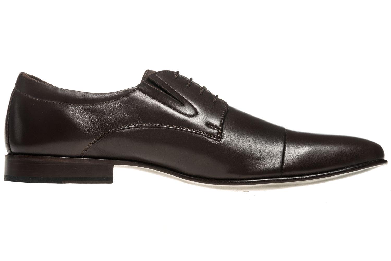 MANZ Business Schuhe in Übergrößen Braun 120051-22-187 große Herrenschuhe – Bild 4