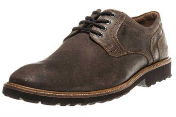 MANZ Business Schuhe in Übergrößen Braun 146064-03-187 große Herrenschuhe – Bild 1