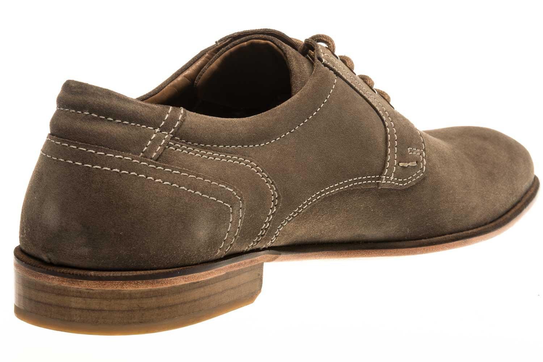 MANZ Business Schuhe in Übergrößen Grau 146068-03-023 große Herrenschuhe – Bild 3