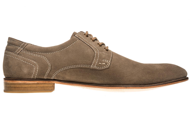 MANZ Business Schuhe in Übergrößen Grau 146068-03-023 große Herrenschuhe – Bild 4