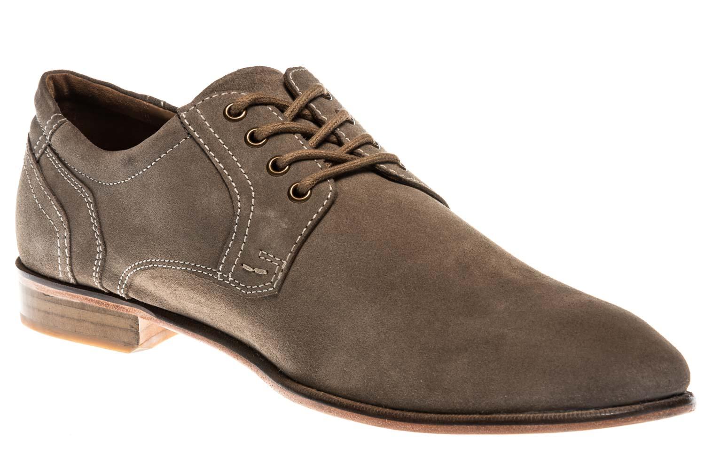 MANZ Business Schuhe in Übergrößen Grau 146068-03-023 große Herrenschuhe – Bild 5