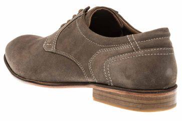 MANZ Business Schuhe in Übergrößen Grau 146068-03-023 große Herrenschuhe – Bild 2
