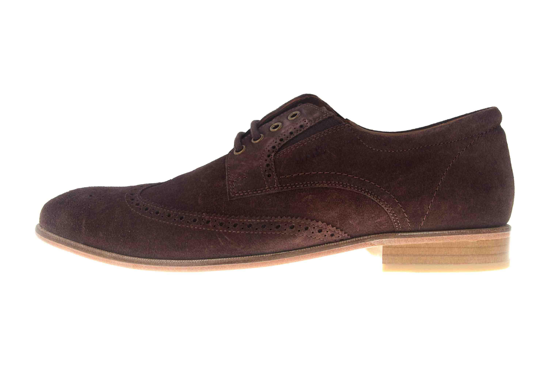 MANZ Business Schuhe in Übergrößen Braun 146067-03-217 große Herrenschuhe – Bild 1