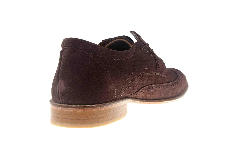 MANZ Business Schuhe in Übergrößen Braun 146067-03-217 große Herrenschuhe – Bild 3