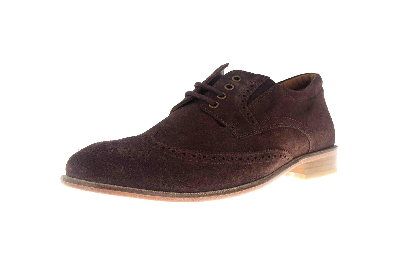 MANZ Business Schuhe in Übergrößen Braun 146067-03-217 große Herrenschuhe – Bild 6