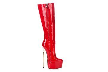 Giaro Hero 1003 Stiefel in Übergrößen Rot große Damenschuhe – Bild 5