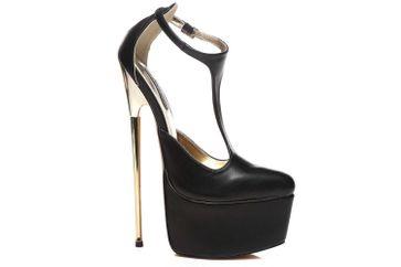 Giaro Hero 1002 High Heels in Übergrößen Schwarz große Damenschuhe – Bild 5