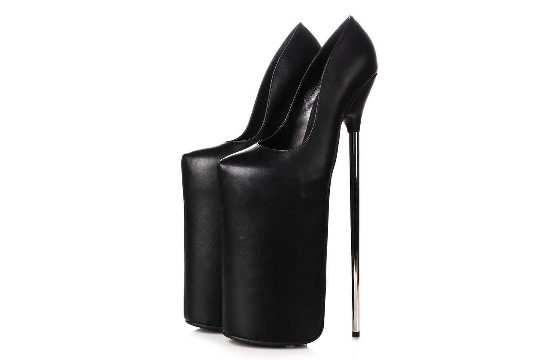 Giaro Fly Away High Heels in Übergrößen Schwarz große Damenschuhe – Bild 3