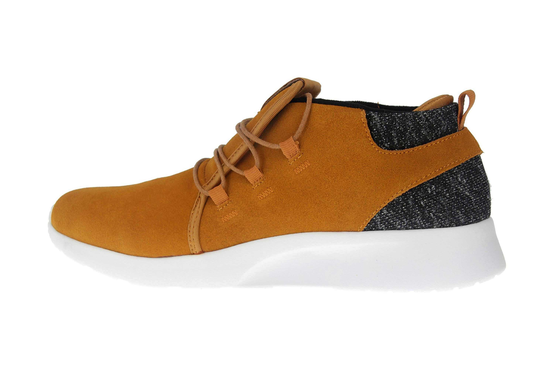 BORAS Sneaker in Übergrößen Gelb 5207-0407 große Herrenschuhe – Bild 1