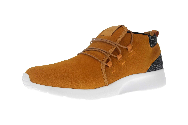 BORAS Sneaker in Übergrößen Gelb 5207-0407 große Herrenschuhe – Bild 6