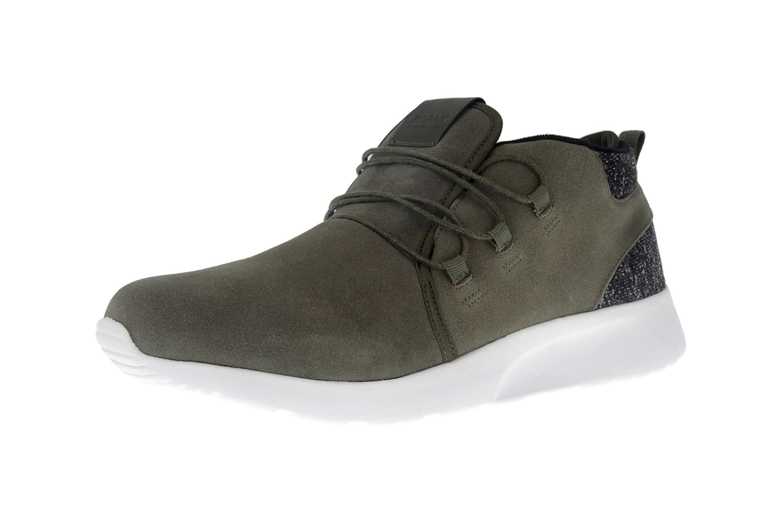 BORAS Sneaker in Übergrößen Grün 5207-0022 große Herrenschuhe – Bild 6
