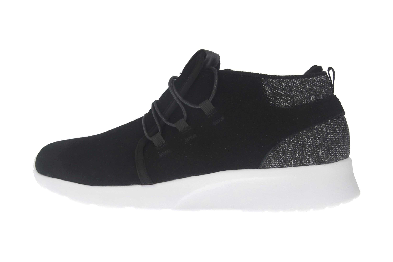 BORAS Sneaker in Übergrößen Schwarz 5207-0001 große Herrenschuhe – Bild 1
