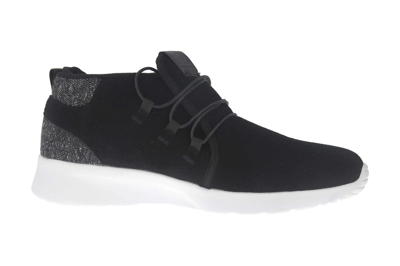BORAS Sneaker in Übergrößen Schwarz 5207-0001 große Herrenschuhe – Bild 4