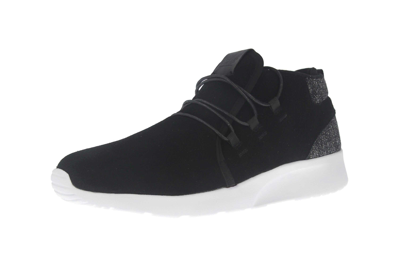 BORAS Sneaker in Übergrößen Schwarz 5207-0001 große Herrenschuhe – Bild 6