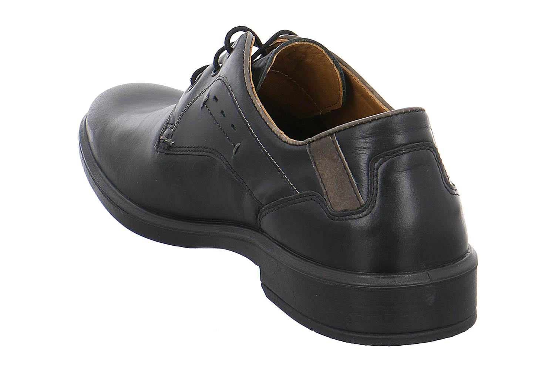 JOMOS Business Schuhe in Übergrößen Schwarz 208214 63 0008 große Herrenschuhe – Bild 2