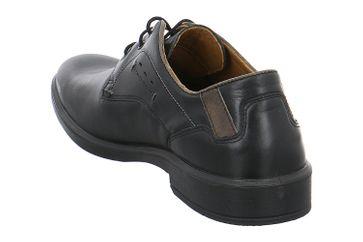 JOMOS Business Schuhe in Übergrößen Schwarz 208214 63 0008 große Herrenschuhe – Bild 3