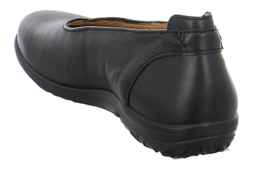 JOMOS Slipper in Übergrößen Schwarz 854204 15 000 große Damenschuhe – Bild 3