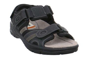 JOMOS Sandalen in Übergrößen Schwarz 503604 448 0012 große Herrenschuhe – Bild 6