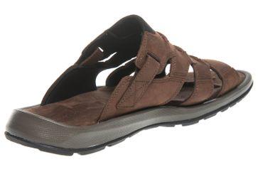 Columbia Slide Sandale in Übergrößen Braun BM 4454-256 große Herrenschuhe – Bild 3