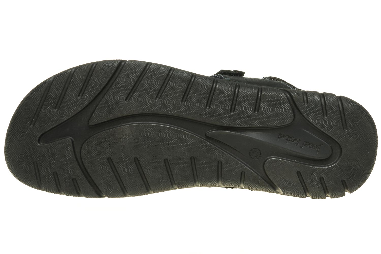 Josef Seibel Jim 41 Sandalen in Übergrößen schwarz 45341 344 100 große Herrenschuhe – Bild 8