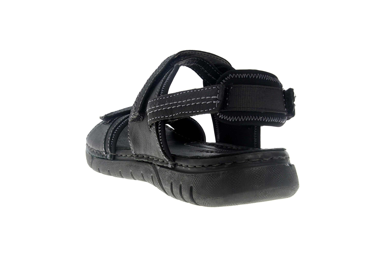 Josef Seibel Jim 41 Sandalen in Übergrößen schwarz 45341 344 100 große Herrenschuhe – Bild 2