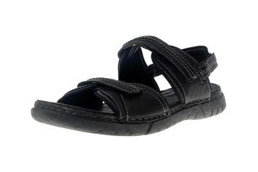 Josef Seibel Jim 41 Sandalen in Übergrößen schwarz 45341 344 100 große Herrenschuhe – Bild 6