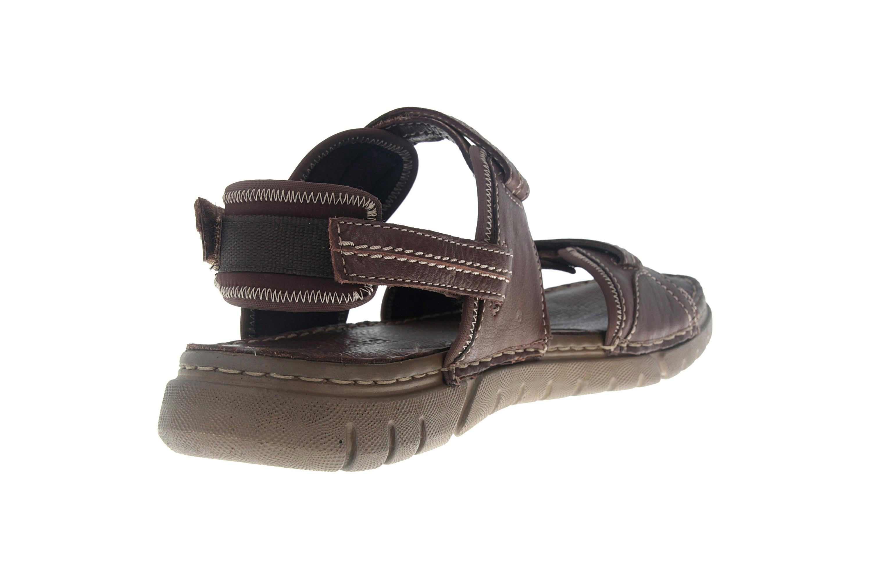 Josef Seibel Jim 41 Sandalen in Übergrößen braun 45341 344 310 große Herrenschuhe – Bild 3