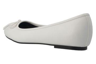 Andres Machado Ballerinas in Übergrößen Weiß TG104 Soft Blanco große Damenschuhe – Bild 2