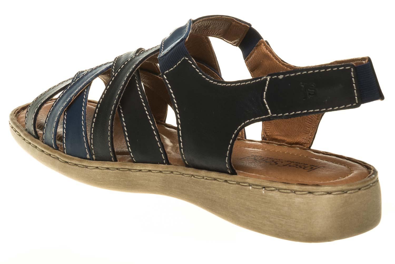 Josef Seibel Lisa 03 Sandalen in Übergrößen Blau 73723 87413 531 große Damenschuhe – Bild 2