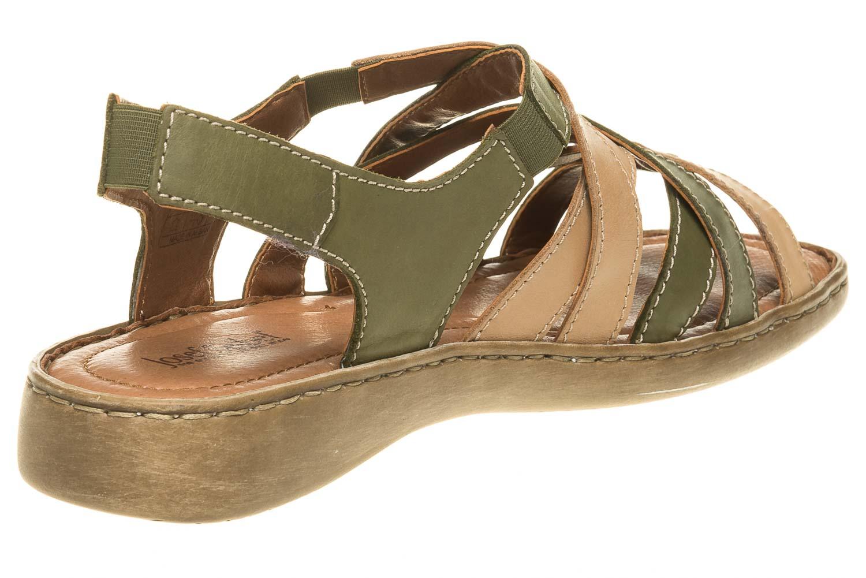 Josef Seibel Lisa 03 Sandalen in Übergrößen Grün 73723 87413 631 große Damenschuhe – Bild 3